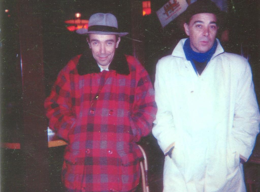 Luc Bernard et son frère Guy Gilles