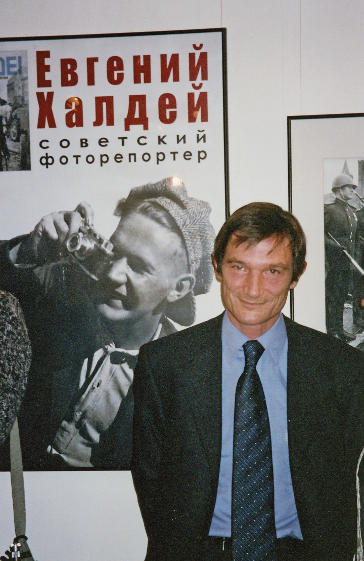 A Moscou pour la sortie de son livre en russe (c) Collection Grosset