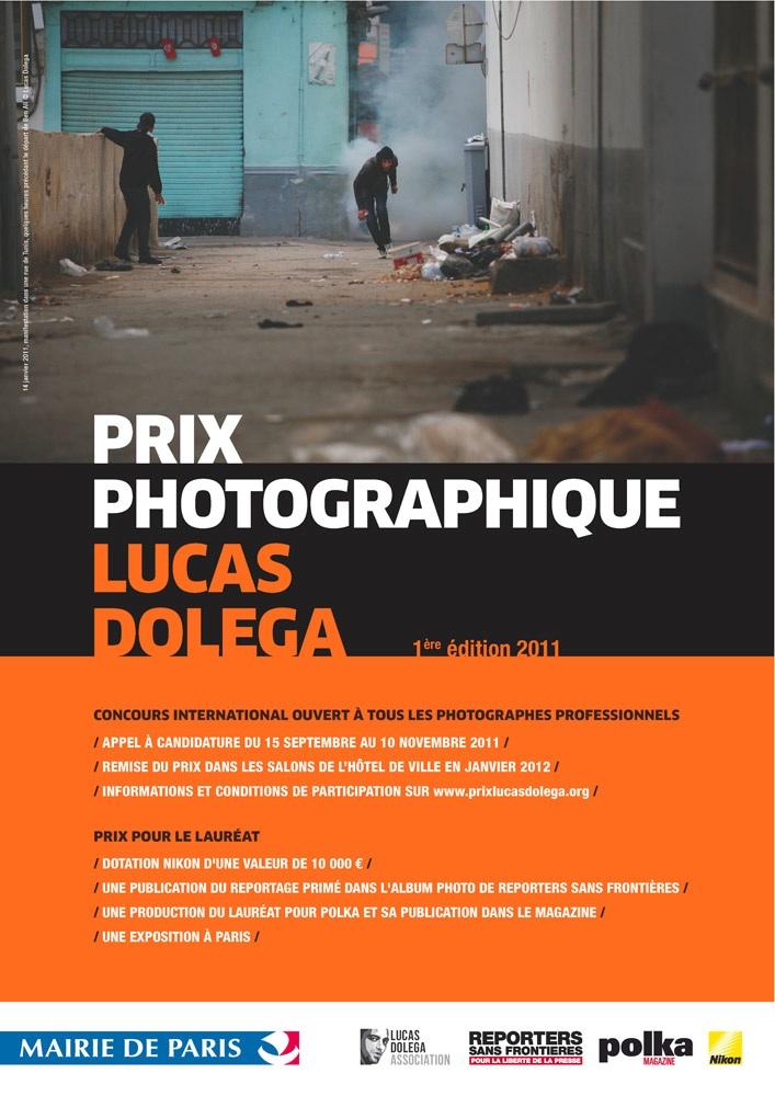 Affiche du Prix Lucas Doléga