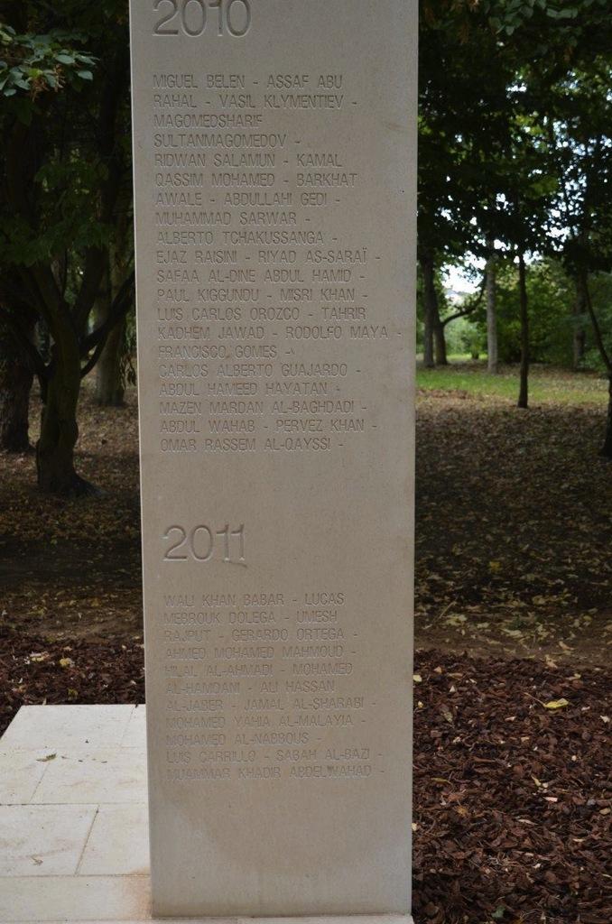 Mémorial des correspondants de guerre à Bayeux (c) Geneviève Delalot