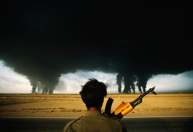 La guerre du pétrole ©Henri Bureau / Corbis