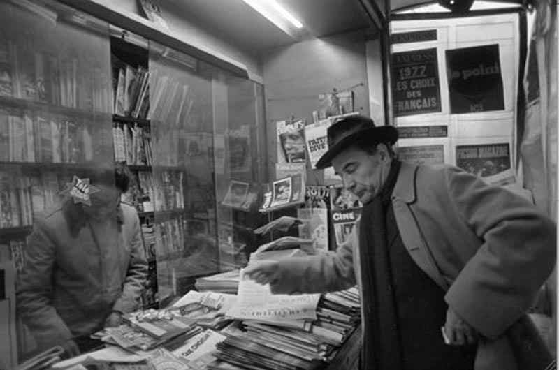 François Mitterrand ©Henri Bureau / Corbis