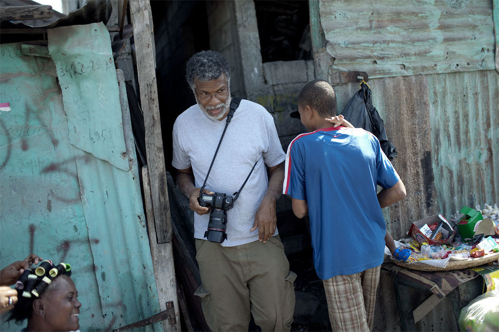 Daniel Morel en Haiti © Karl Melander