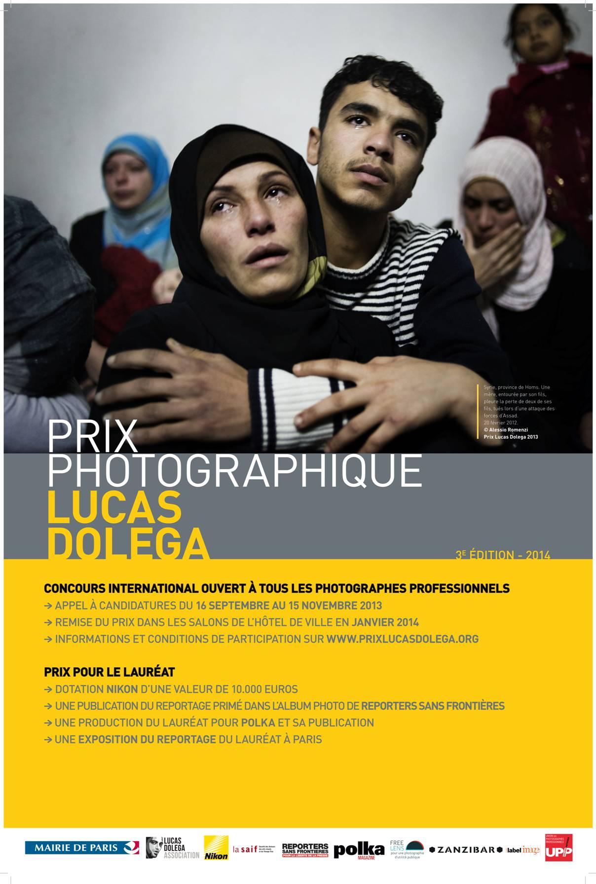 Affiche Prix Lucas Dolega