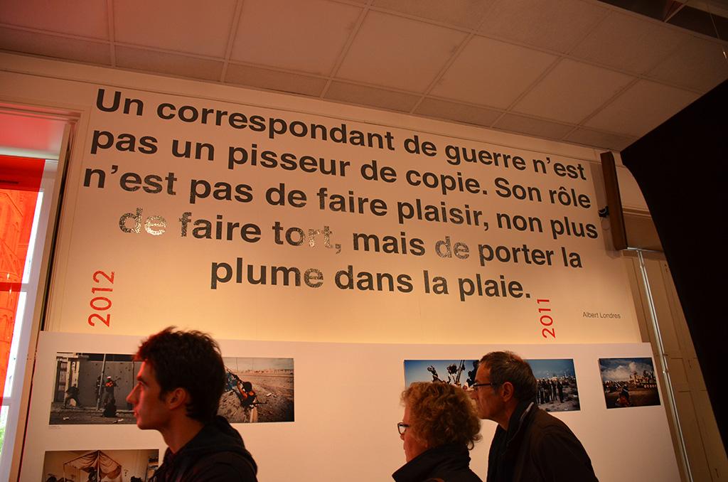 Exposition rétrospective de 20 ans de Prix Bayeux-Calvados (c) Geneviève Delalot