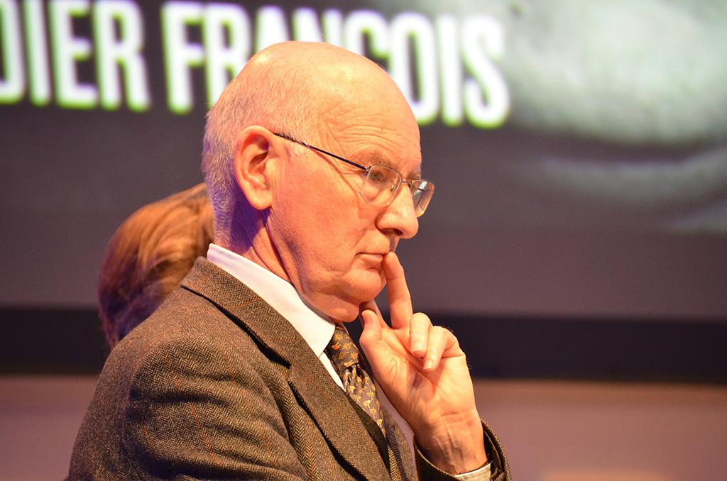 Le père de Nicolas Hénin est venu témoigner.(c) Geneviève Delalot