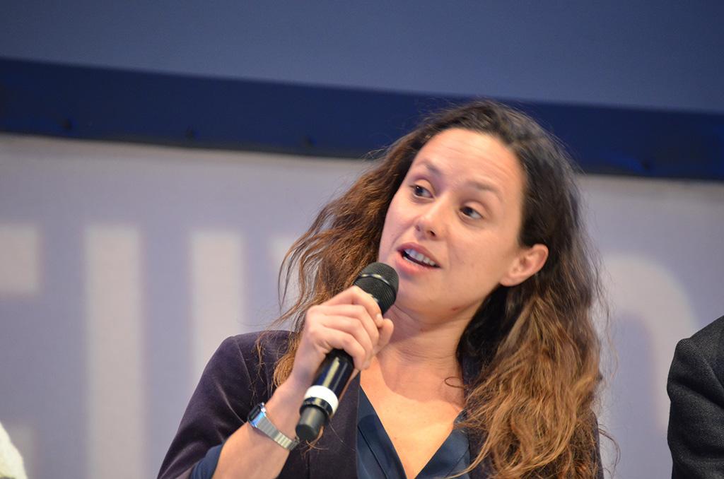 Sophie Nivelle-Cardinale lauréate du format court en télé (c) Geneviève Delalot