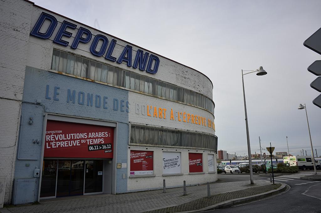 Depoland, ex atelier et lieu d'expositions (c) Michel Puech