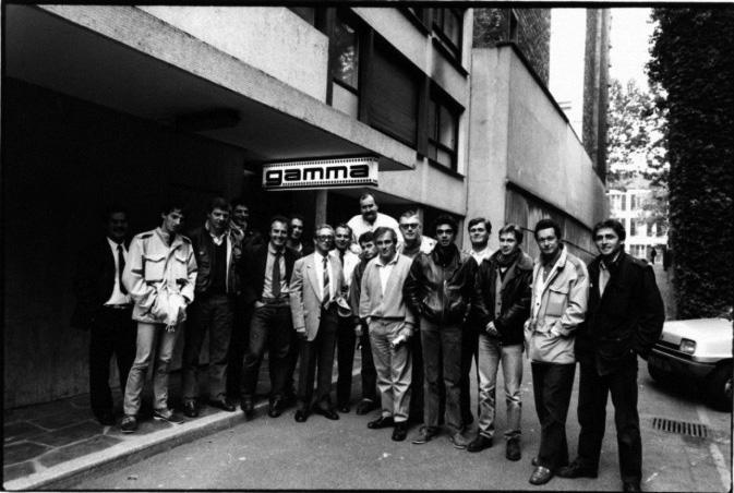 L'agence Gamma en 1988