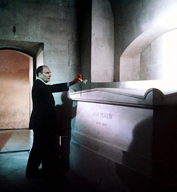 François Mitterrand au Panthéon (c) Pascal Rostain