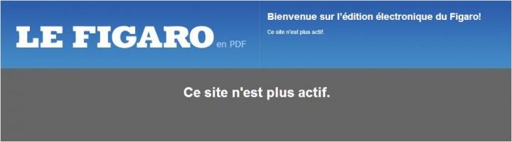 http://lequotidien.lefigaro.fr/epaper/viewer.aspx