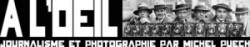 Logo d'A l'oeil avec photo Keystone par courtoisie de Gamma-Rapho