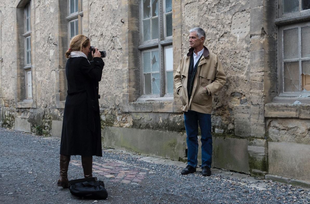 James Nachtwey photographié par Alizé Le Maoult (c) Benjamin Favier.