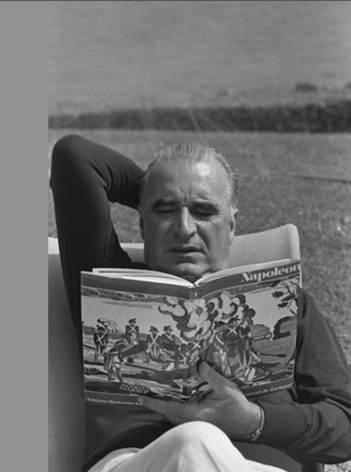 Georges Pompidou © Henri Bureau / Corbis