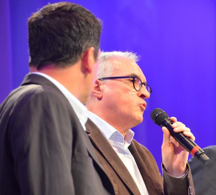 Prix Bayeux Calvados 2014, intervention d'Alain Le Gouguec © Geneviève Delalot