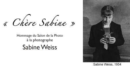 Sabine Weiss au Salon de la Photo