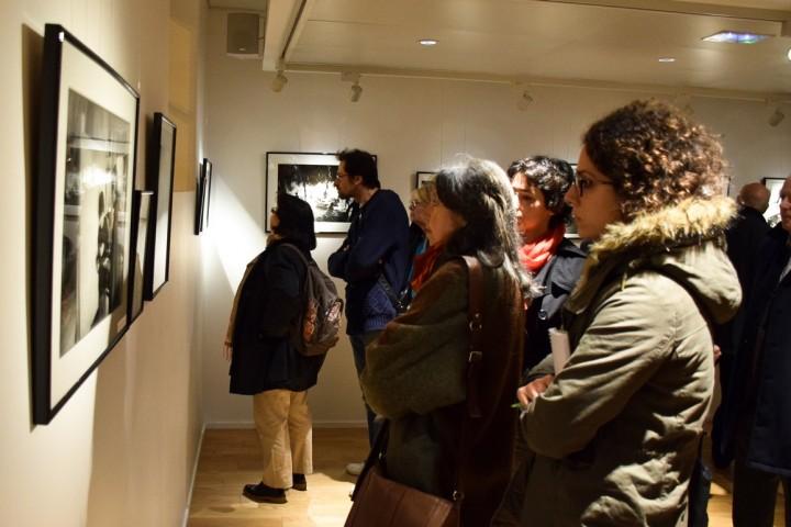 Exposition à l'espace Andrée Chedid d'Issy-les-Moulineaux