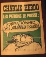 Blasphème ? Numéro 64 de Charlie Hebdo du 7 février 1972