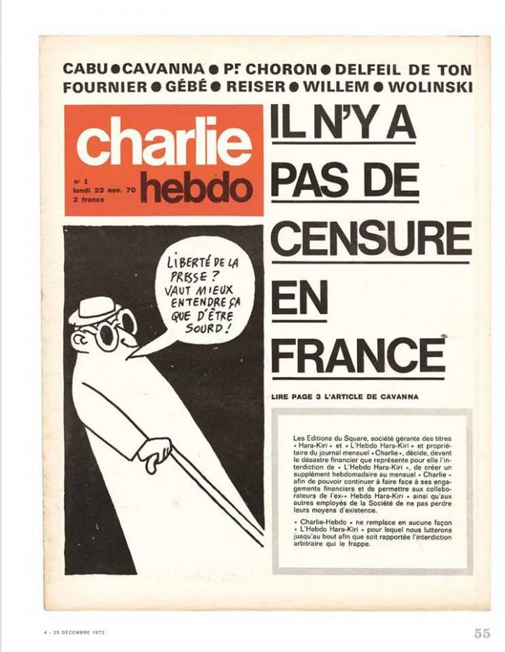 Charlie Hebdo N1