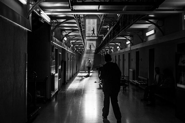 "Photographie du reportage ""Prisons"" © Sébastien Van Malleghem"