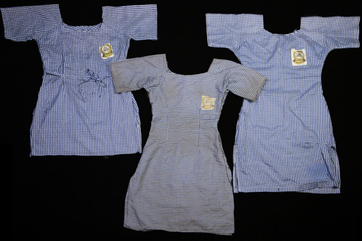 """Des uniformes appartenant à quelques-unes des 300 jeunes filles kidnappées par Boko Haram, au Nigeria. Catégorie """"Actualités"""" : (c) Glenna Gordon"""