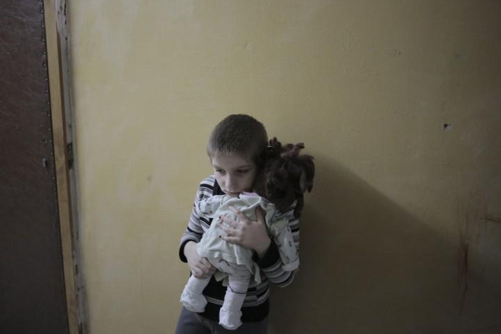 Donetsk sous les bombes © James Koegh / Hans Lucas