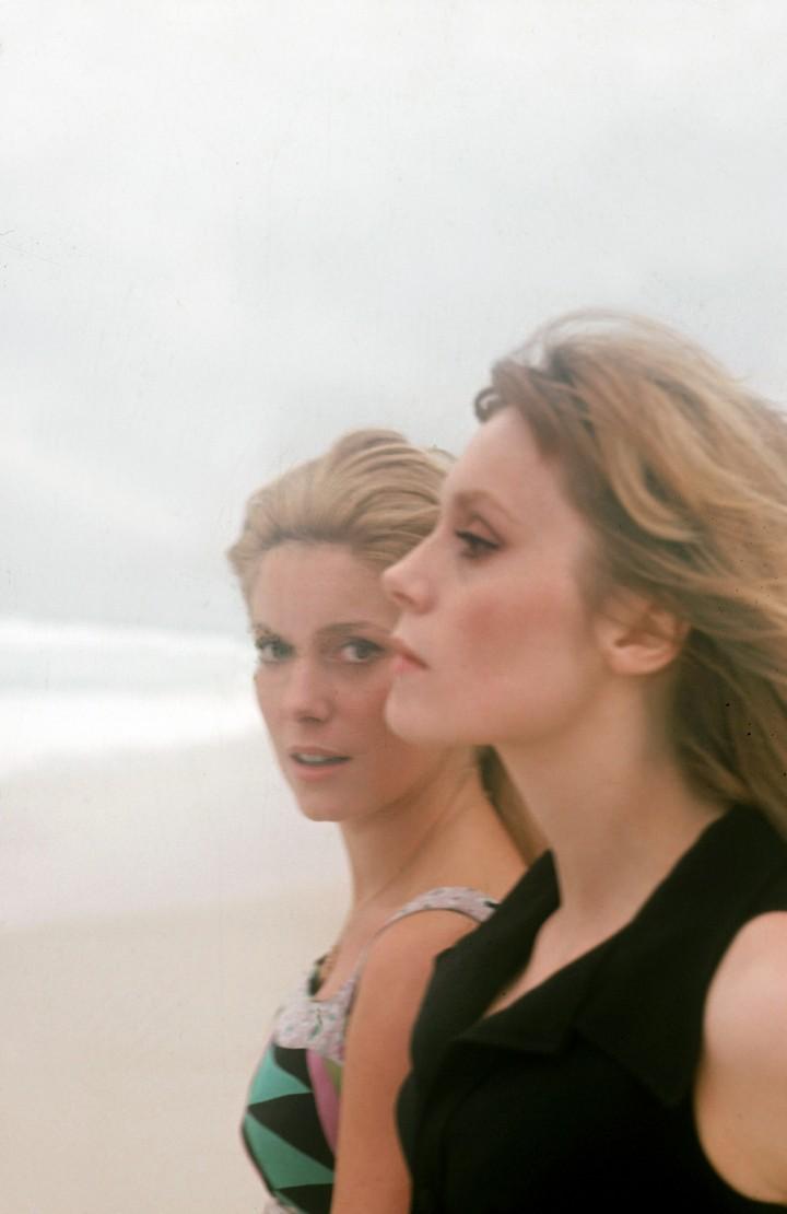 Catherine Deneuve et Francoise Dorleac