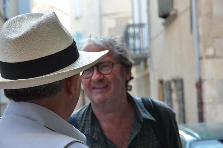 Rencontres d'Arles 2011Yan Morvan, vernissage de l'exposition Gang - Photographie Geneviève Delalot