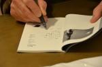 Exposition de Mario Dondero Exposition de Mario Dondero à la Petite Galerie de la Librairie italienne Tour de Babel à Paris Photographie ©Geneviève Delalot
