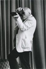 1974 - Le photographe Jean Lattès - Photographie tous droits réservés de Bernard Perrine