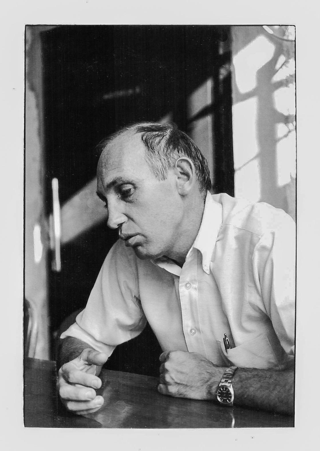 Raymond Depardon Paris 1983 - Photo ©Christian Rausch