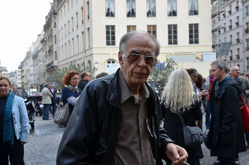 2011 novembre, Paris :A l'Odéon, Gérard-Aimé lors de l'hommage à Goksin Sipahioglu Photo ©Geneviève Delalot pour A l'oeil