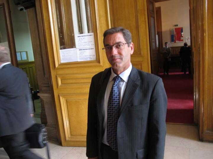 Stephan Biberfield au tribunal de commerce (c) Michel Puech