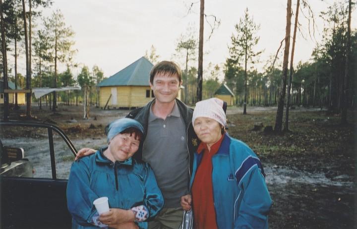 Mark Grosset en Russie (c) Collection Grosset