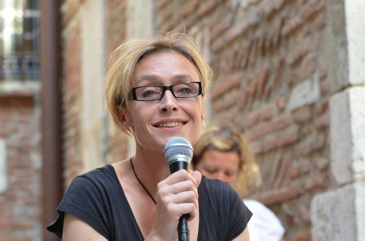 Nathalie Donnadieu à Visa pour l'image 2011 (c) Geneviève Delalot