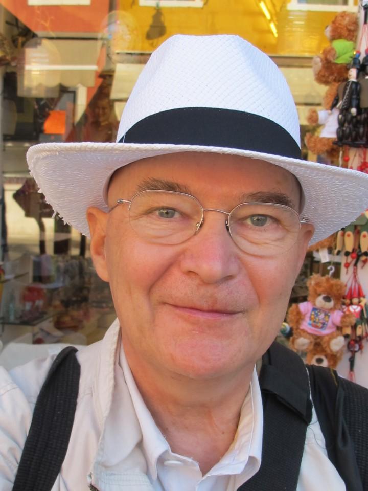 Michel Baret à Venise en juin 2011 (c) Michel Puech
