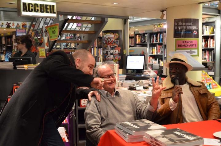 Paris le 22 janvier 2013 - Soirée débat autour du livre Gangs Story de Yan Morvan et de Kizo Photographie ©Geneviève Delalot