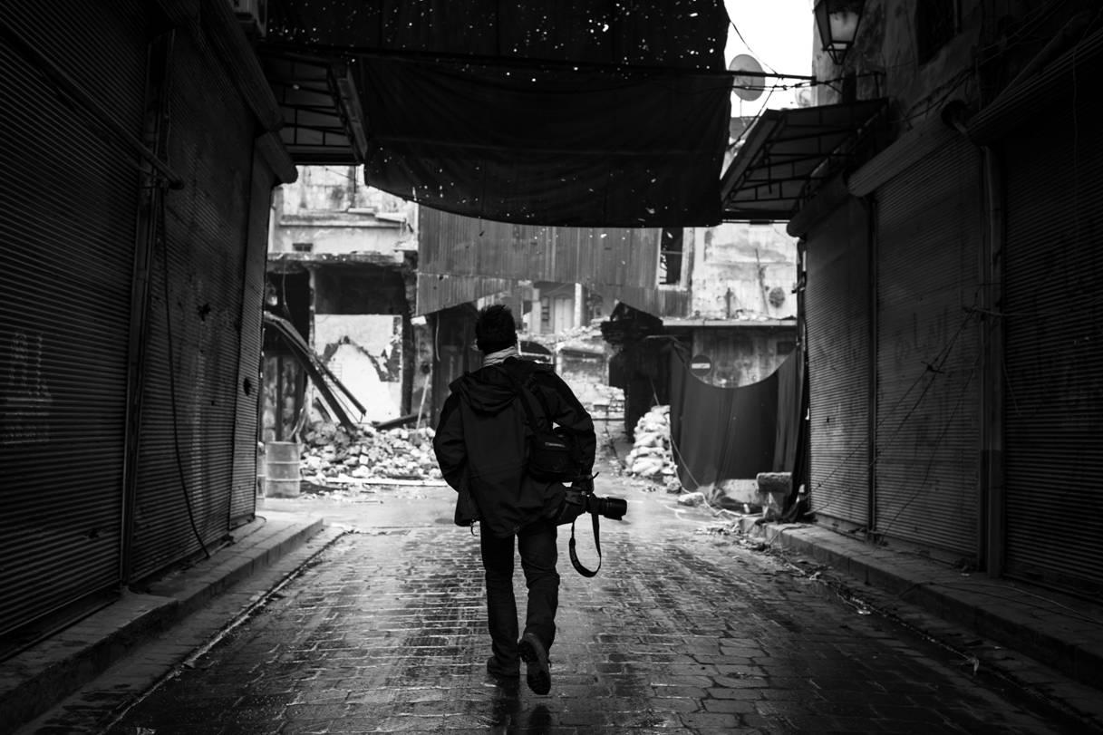 Olivier Voisin en Syrie 2013 (c) Edouard Elias