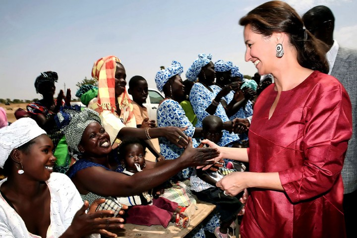 7 avril 2009 Ségolène Royal  Keur Martin au Sénégal (c) Stéphane Lemouton