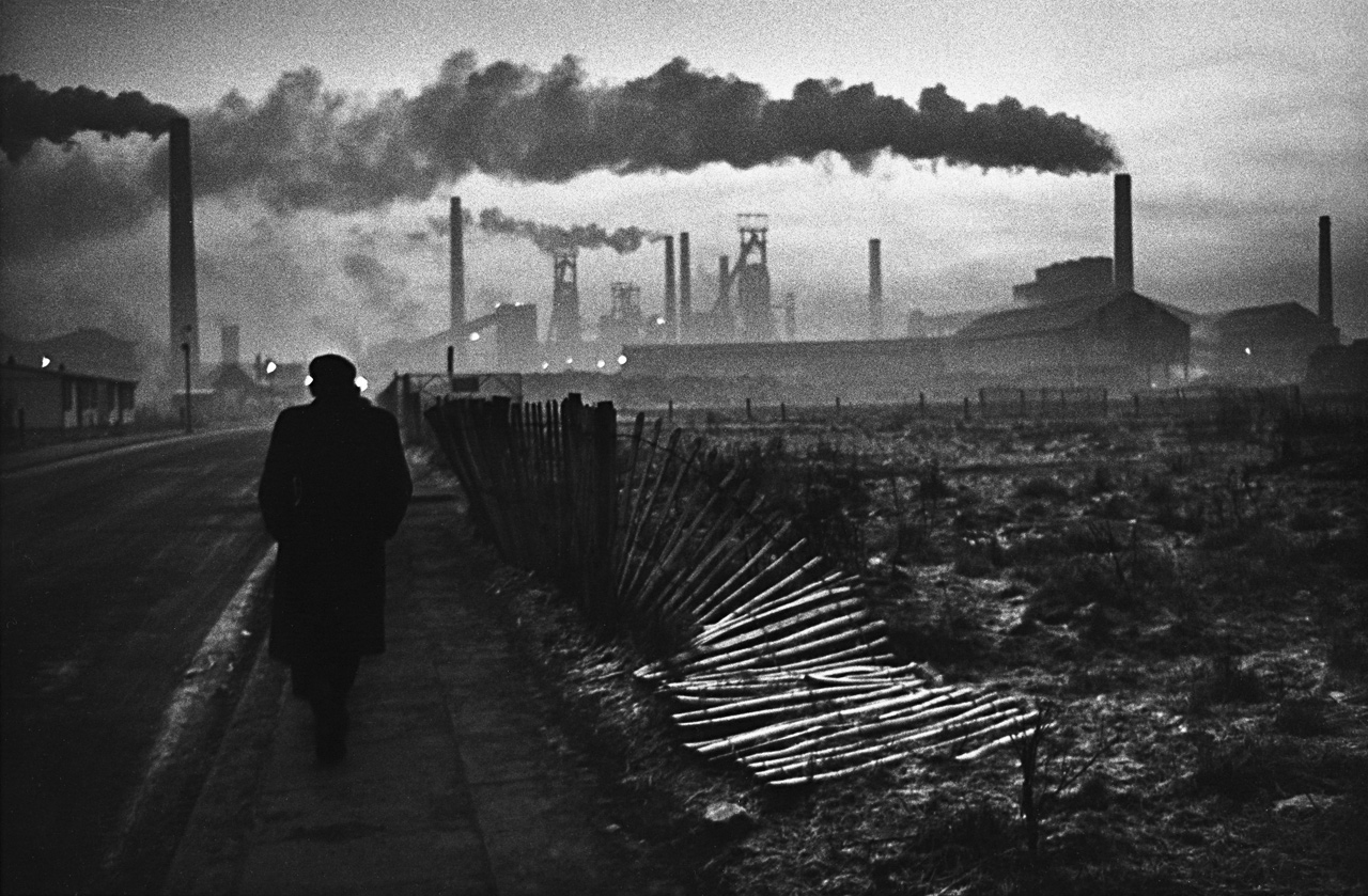 Early morning, West Hartlepool, County Durham,  1963