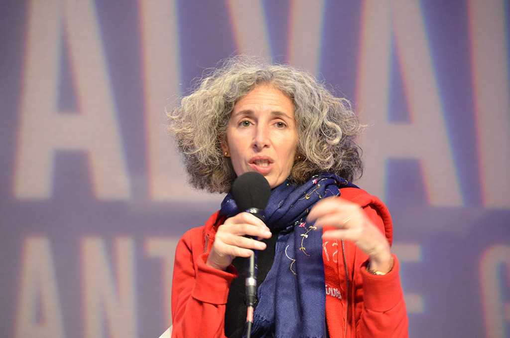 Karen Lajon (Le Journal du Dimanche)Jon Randal (Washington Post) © Geneviève Delalot