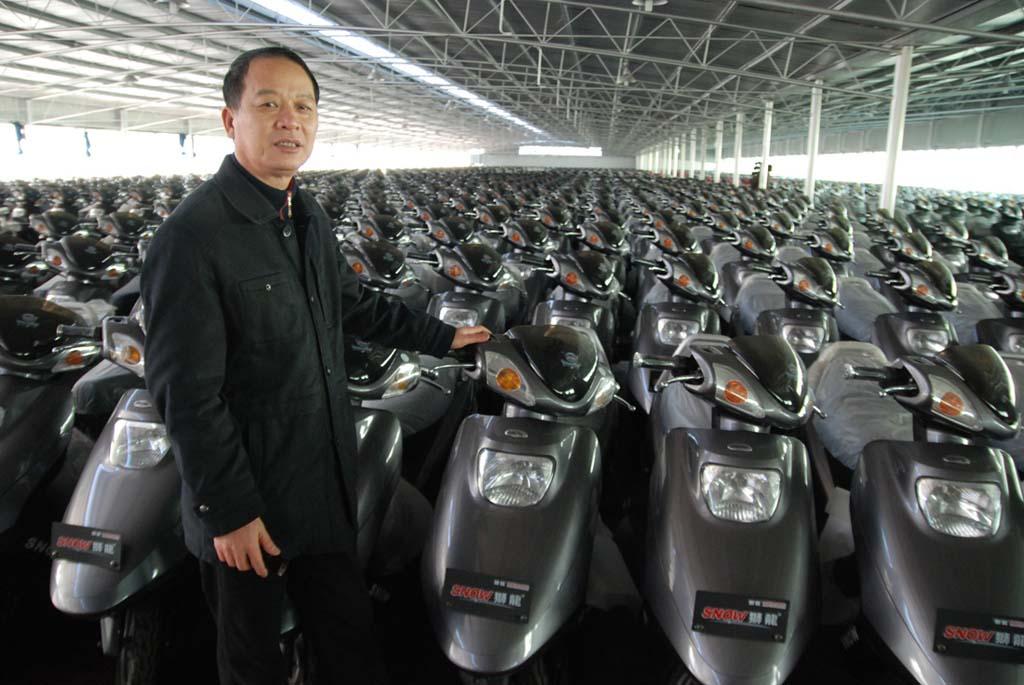 Shanghai fabrique de scooter (c) Philippe Rochot
