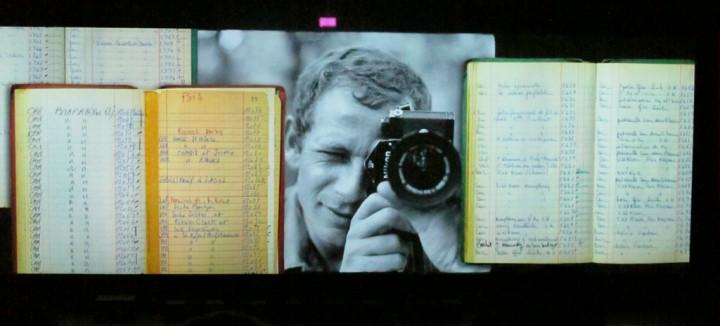 2010 09 02 Projection hommage Gilles Caron Visa pour l'image Raymond Depardon et Gilles Caron © Geneviève Delalot
