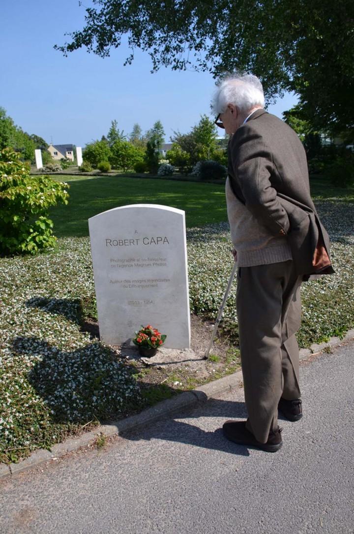 John G. Morris à Bayeux