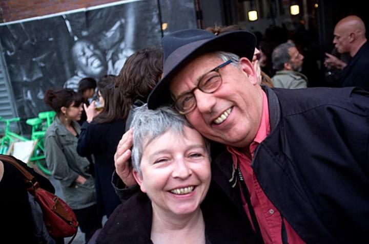 Geneviève Delalot et Michel Puech en reportage (c) Thomas Haley