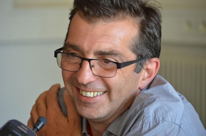 Michael Zumstein à Perpignan sept. 2014 (c) Geneviève Delalot pour A l'oeil - Mediapart