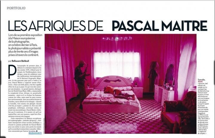 Afrique Magazine - Pascal Maitre