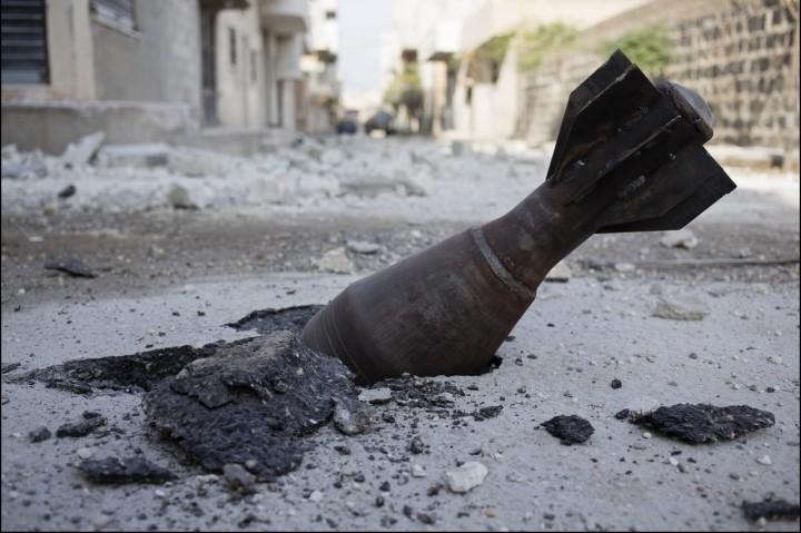 Kobane déc. 2014 © Frederic Lafargue