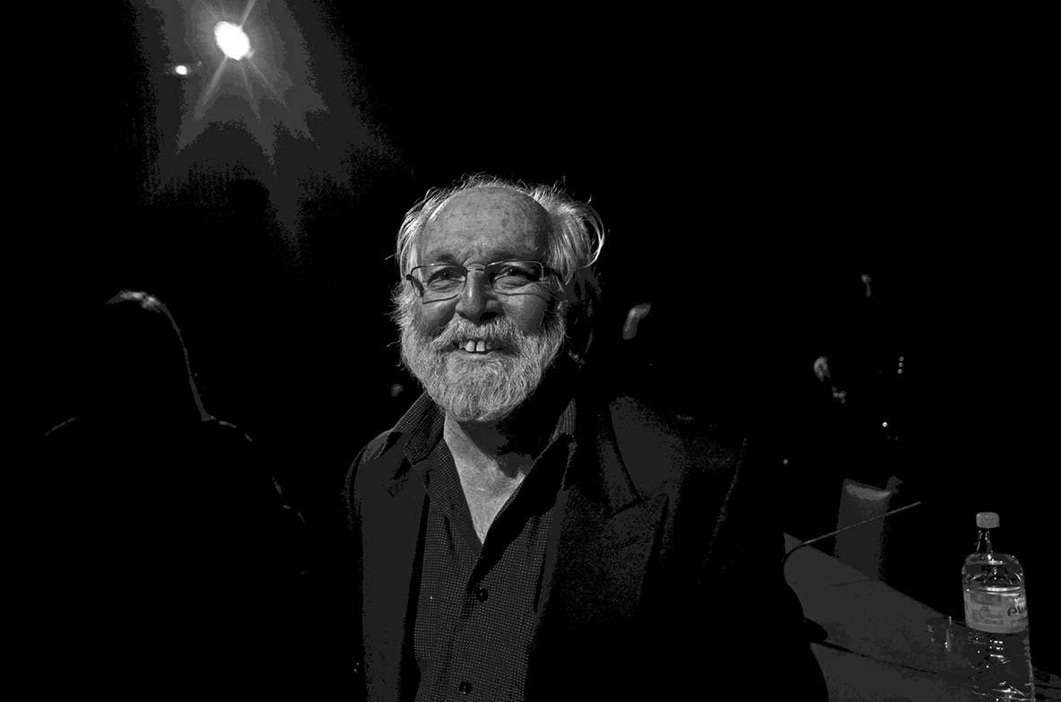 """Paris 4 décembre 2014 François Le Diascorn lors de la présentation de son livre """"Only in Paris"""" à la Maison Européenne de la Photographie (MEP) à Paris"""