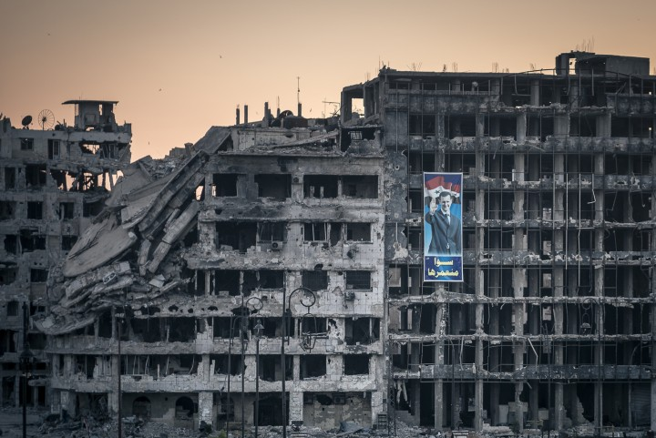 ©in Damascus, Syria, Sunday June 15, 2014. (Photo ©Sergey Ponomarev for The New York Times)